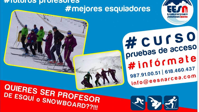 Quieres ser profesor de esquí/snowboard??
