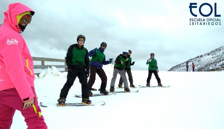 Snowboard en Norte España