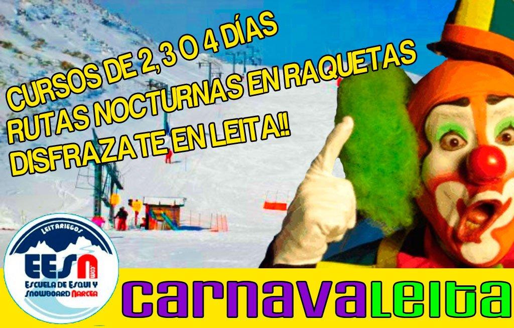 Carnaval en Leitariegos 2014