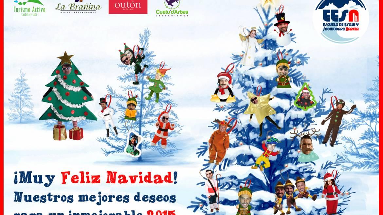 Feliz Navidad y nuestros mejores deseos