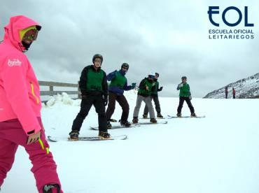 Los escolares eligen Semanas Blancas en Leitariegos con Ayuko