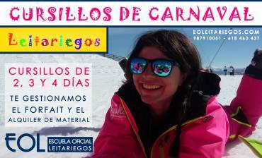 Cursillos de Carnavales en Leitariegos