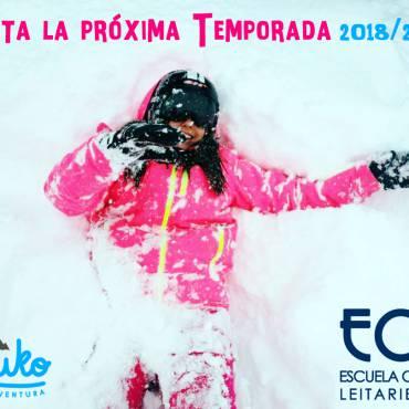 Finalizada la Temporada de Esquí 2017/2018