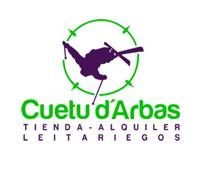 Cuetu D'Arbas Logo - tienda alquiler Leitariegos